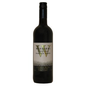 Winbirri Vineyards Insignia, English, Red Wine