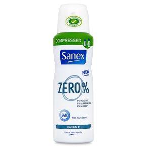 Sanex Zero% Invisible Deodorant