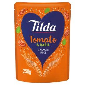 Tilda steamed basmati rice sundried tomato