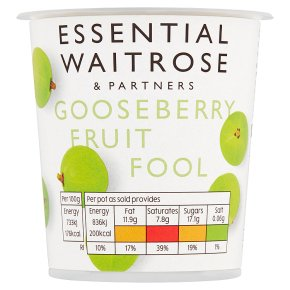 Essential Gooseberry Fruit Fool
