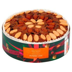 Waitrose Christmas Dundee Cake