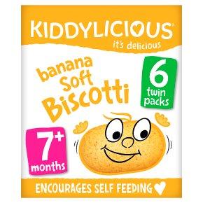 Kiddylicious Banana Soft Biscotti