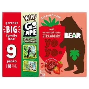 Bear Pure Fruit Yoyos Strawberry