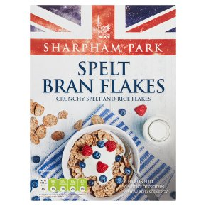 Sharpham Park Crunchy Spelt Bran Flakes