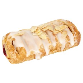 Cherry Lattice With Almonds