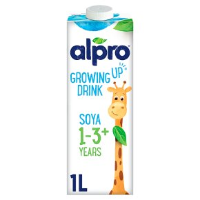 Alpro Soya Growing Up Drink long life alternative