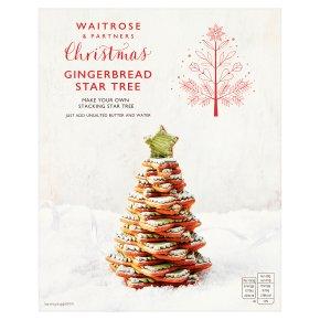 Gingerbread Christmas Tree.Waitrose Christmas Gingerbread Star Tree