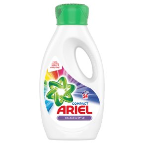 ArielActilift Colour & Style BioWashing Liquid With Pre-treat Cap 24 Washes