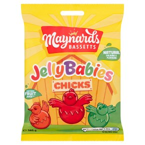 Maynards Bassetts Jelly Babies Chicks Sweets Bag