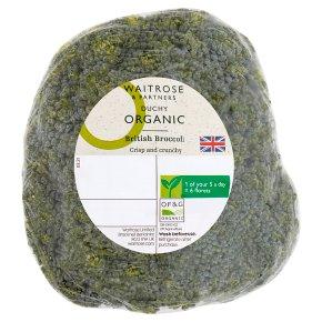 Waitrose Duchy Organic broccoli