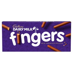 Cadbury Milk Chocolate Biscuit Fingers