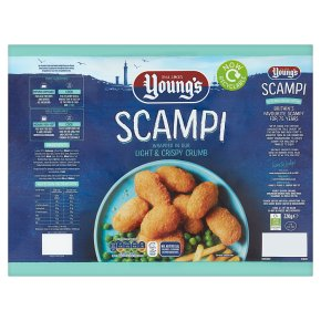 Young's Formed Scampi