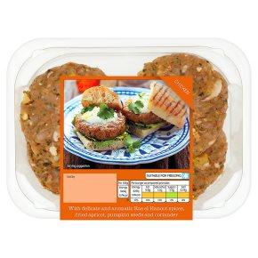 Waitrose 4 Persian spiced chicken burgers