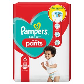 Pampers Baby-Dry Pants 15+kg Size 6