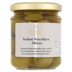 Waitrose 1 Italian Castelvetrano Olives