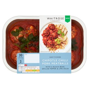 Easy To Cook Chipotle Chilli Pork Meatballs