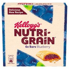 Kellogg's Nutri Grain 6 Blueberry Bars
