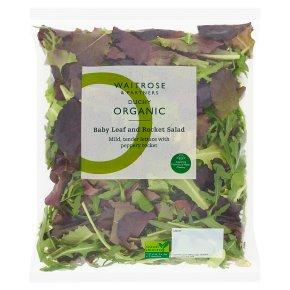 Waitrose Duchy Organic babyleaf & rocket salad