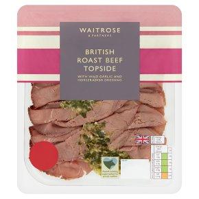 Waitrose Finely Sliced Roast Beef