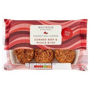 Waitrose Corned Beef & Pickle Bites