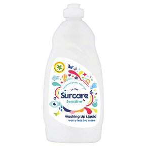 Surcare sensitive washing-up liquid