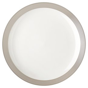 Waitrose Dining Harrogate Grey Dinner Plate
