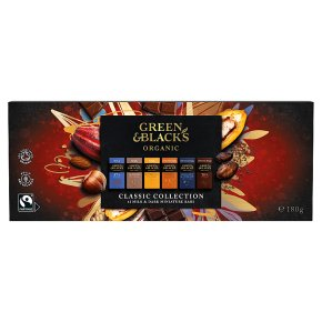 Green & Black's Organic Miniature Milk Chocolate Bar Collection