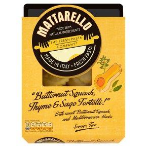 Mattarello butternut squash thyme&sage tortelli