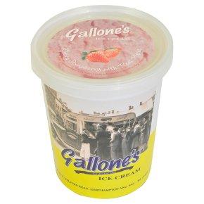 Gallone's Strawberry Ice Cream