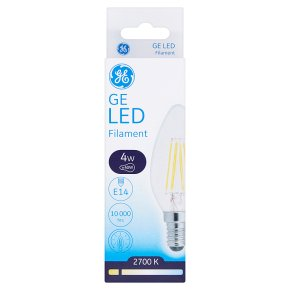 GE LED Filament E14
