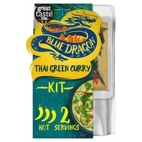Blue Dragon Thai green curry 3 steps
