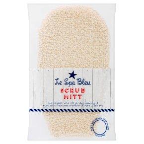 Le Spa Bleu scrub mitt