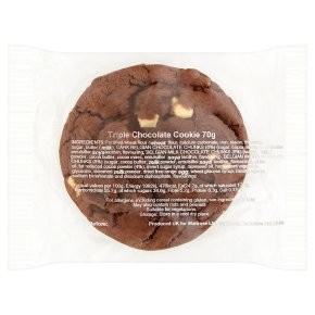 Triple Choc Cookie Belgian Choc Chunks
