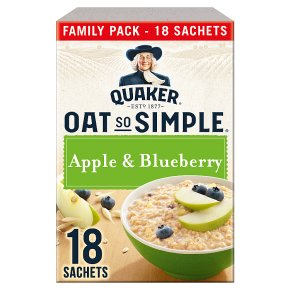 Quaker Oat So Simple Apple & Blueberry 18