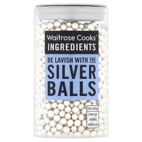 Waitrose Cooks' Homebaking silver balls
