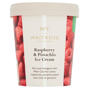 No.1 Raspberry & Pistachio Ice Cream