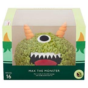Waitrose Max the Monster Celebraction Cake
