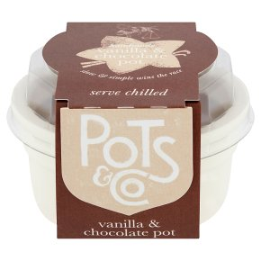 Pots & Co Vanilla & Chocolate Pot