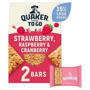 Quaker Porridge To Go Squares Strawberry