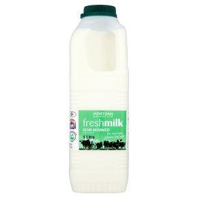 Mortons Dairies Ltd fresh milk semi-skimmed