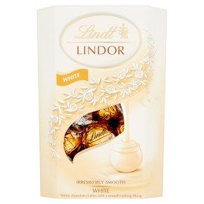 Lindt Lindor white chocolate truffles