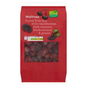 essential Waitrose frozen black forest fruits