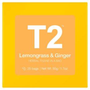 T2 Lemongrass & Ginger 25 bags