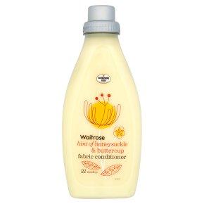 Waitrose fabric conditioner honeysuckle & buttercup