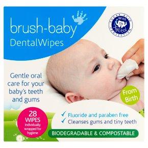 Brush Baby Dental Wipes