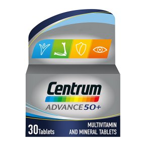 Centrum Advance 50+ Tablets