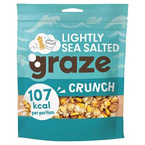 Graze Lightly Sea Salted Crunch
