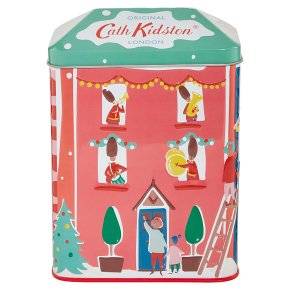 Cath Kidston Christmas House Tin