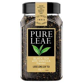 Pure Leaf Black Tea with Vanilla Flavour