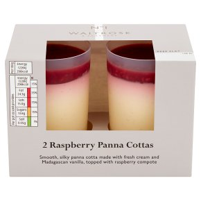 No.1 2 Raspberry Panna Cotta
